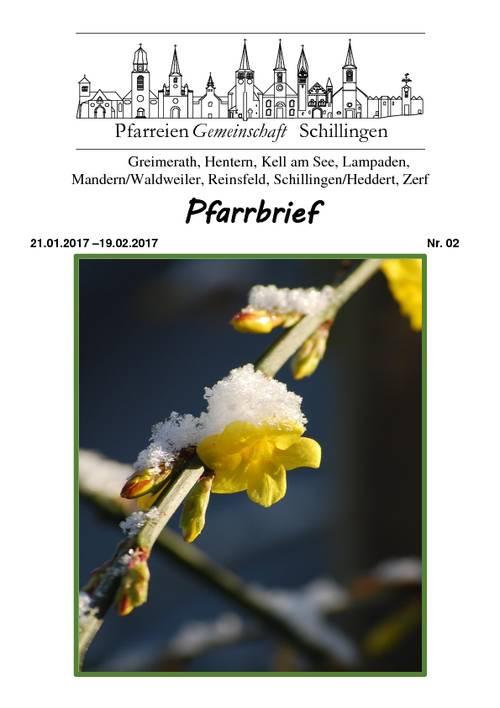 Reinsfeld: Archiv Aktuell 2017